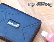 How to insert a SIM card into the TK915 GPS tracker