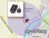 GPS tracker Geo-fence by GPS live tracking system